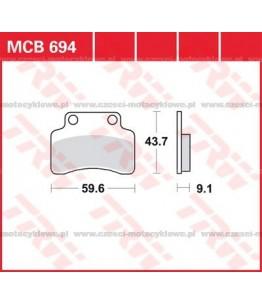 Klocki hamulcowe TRW MCB694