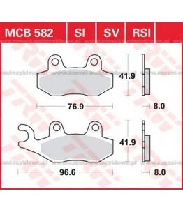 Klocki hamulcowe TRW MCB582SI