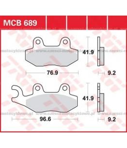 Klocki hamulcowe TRW MCB689