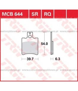Klocki hamulcowe TRW MCB644