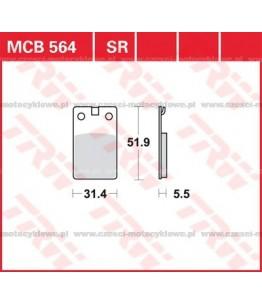 Klocki hamulcowe TRW MCB564