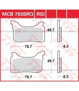 Klocki hamulcowe TRW MCB793RSI