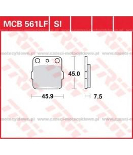 Klocki hamulcowe TRW MCB561SI