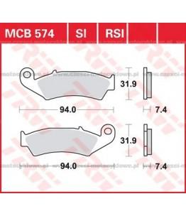 Klocki hamulcowe TRW MCB574