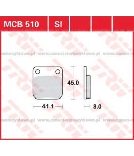 Klocki hamulcowe TRW MCB510