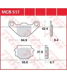 Klocki hamulcowe TRW MCB517