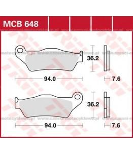 Klocki hamulcowe TRW MCB648SRM