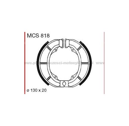Szczęki hamulcowe TRW MCS 818