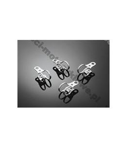 Zaciski owiewek / reflektorów 43-46mm, 4 sztuki. Producent: Highway Hawk.