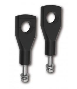 Mocowanie Alu-Riser z homologacją , 150mm, 1/4 cala, 32mm mocowanie, 12mm gwint, czarne