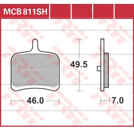 Klocki hamulcowe TRW MCB811SH