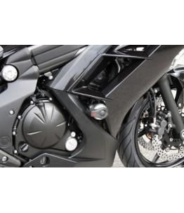 Zestaw montażowy Crash Padów, Kawasaki ER6f 2012- montaż z przodu silnika zachowując śruby