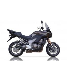 IXIL tłumik Hyperlow czarny XL,Kawasaki Versys 1000, od 2012, dwa wyjścia