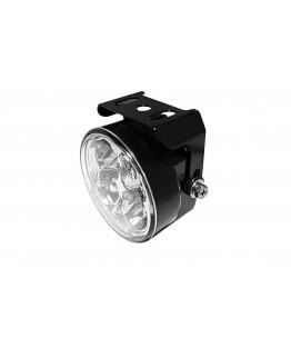 Światła do jazdy dziennej 4 Diody Power LED czarne