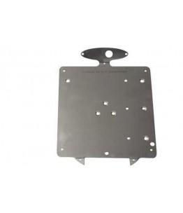 Płyta tablicy rejestracyjnej 200mm do LED świateł 255-999 + oświetlenie tablicy rej.