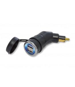Podwójne złącze USB