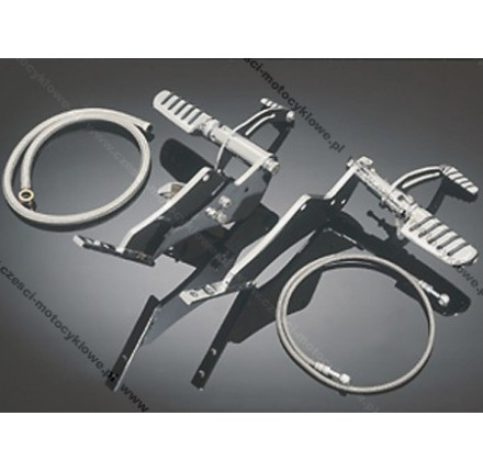 Set motocyklowy TECH GLIDE do Yamaha XV 1600A. Producent: Highway Hawk.
