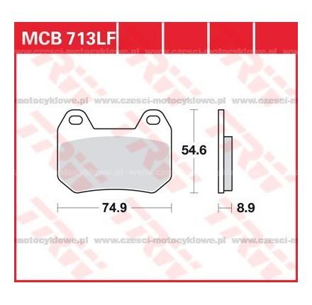 Klocki hamulcowe TRW MCB713