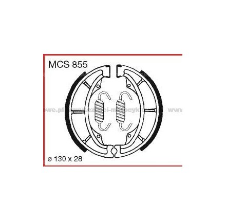 Szczęki hamulcowe TRW MCS 855