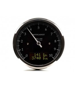 Chronoclassic obrotomierz 0-10.000 RPM, polerowana ramka i obudowa Wyświetlacz LCD