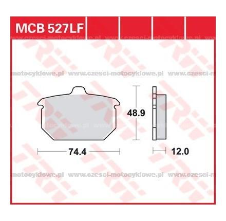 Klocki hamulcowe TRW MCB527