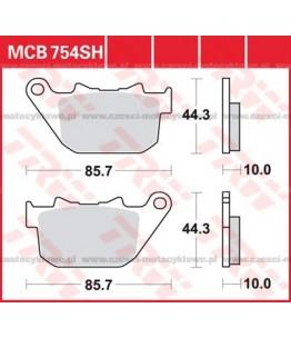 Klocki hamulcowe TRW MCB754SH