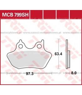 Klocki hamulcowe TRW MCB799SH
