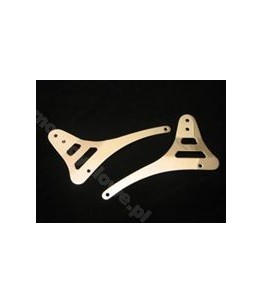 Uchwyty oparcia Sissy Bar do Yamaha XVS1100 Classic. Producent: Highway Hawk.