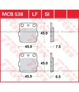 Klocki hamulcowe TRW MCB538SI