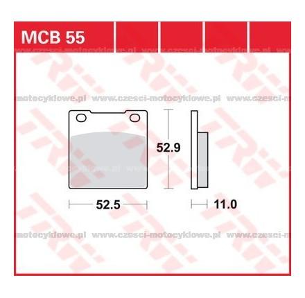Klocki hamulcowe TRW MCB55