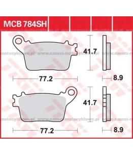 Klocki hamulcowe TRW MCB784SH