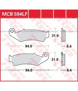 Klocki hamulcowe TRW MCB594