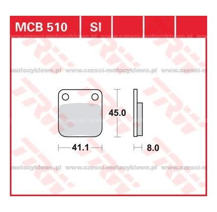 Klocki hamulcowe TRW MCB510SI