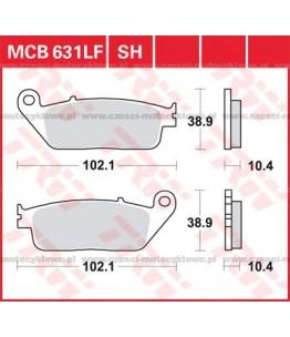 Klocki hamulcowe TRW MCB631