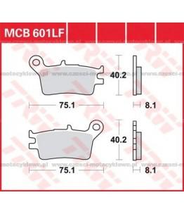 Klocki hamulcowe TRW MCB601