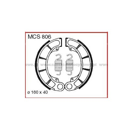 Szczęki hamulcowe TRW MCS 806