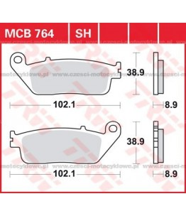 Klocki hamulcowe TRW MCB764SRM