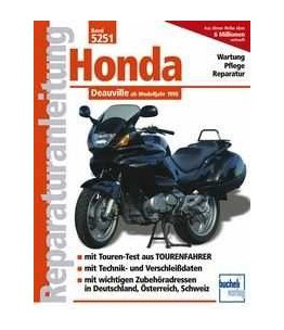 BD. 5251 Podręcznik serwisowy HONDA NTV 650 Deauville, od 98- rok