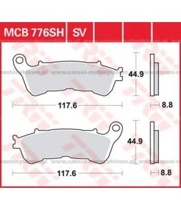 Klocki hamulcowe TRW MCB776SH