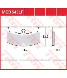 Klocki hamulcowe TRW MCB543