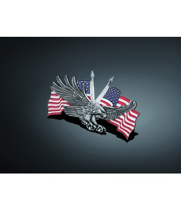 EMBLEMAT ADH HAWK/USA DUBBLE FLAG
