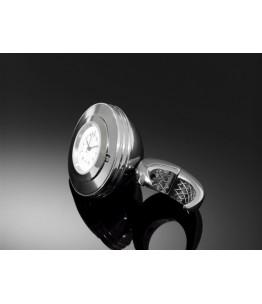 Zegarek analogowy SPACE z białą tarczą