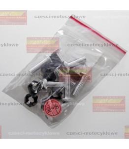 Zestaw śrub do owiewek M5 z nakrętkami i podkładkami