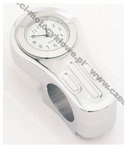 Zegarek analogowy mocowany na kierownicę 22 lub 1 cal