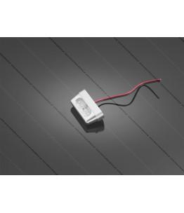 Oświetlenie tablicy rejestracyjnej LED BULLET polerowana obudowa. Producent: Highway Hawk.