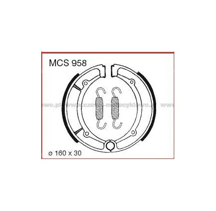 Szczęki hamulcowe TRW MCS 958