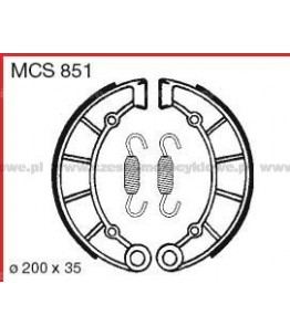 Szczęki hamulcowe TRW MCS 851