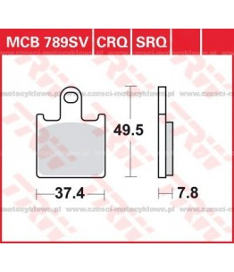 Klocki hamulcowe TRW MCB789SV