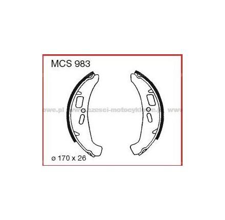 Szczęki hamulcowe TRW MCS 983