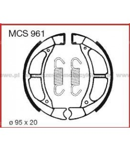 Szczęki hamulcowe TRW MCS 961